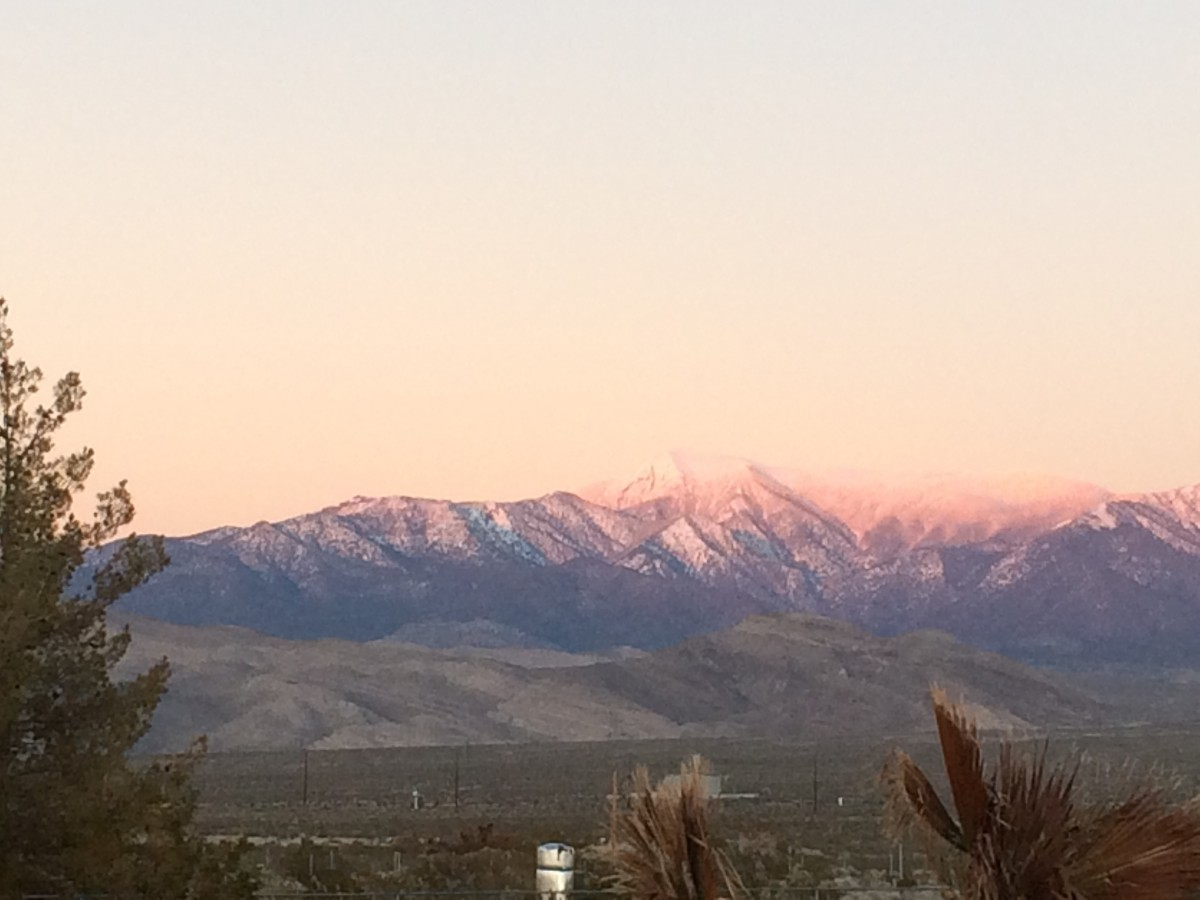Pahrump Valley Nevada